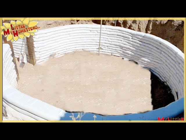 Building Considerations Strengthen The Walls Underground Earthbag Building Ep 3 Weekly Peek