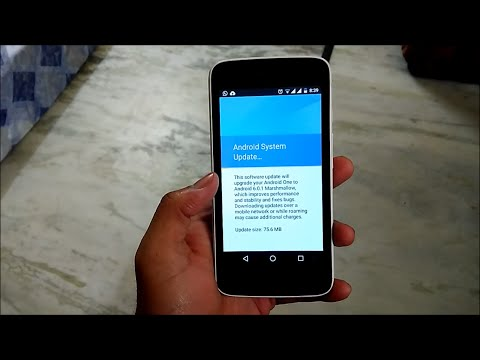 Android Marshmallow 6.0.1 update on Android one ( Canvas A1 )