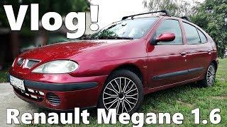 Prezentacja i jazda Renault Megane I 1.6l !! Vlog ☆ MafiaSolecTeam