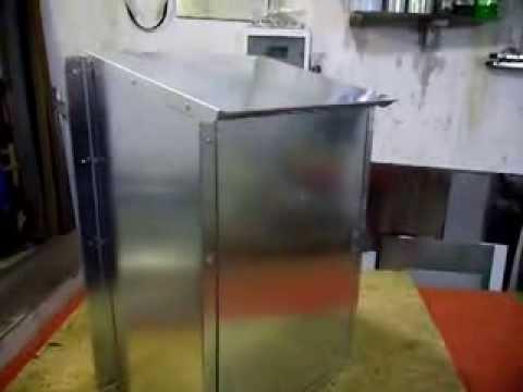 Ящик из оцинкованной стали.По размерам заказчика.
