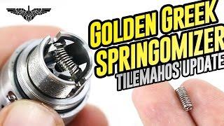 Golden Greek Springomizer (Tilemahos update) - revision