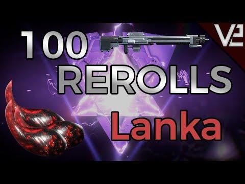 Warframe - 100 Rerolls: Lanka thumbnail