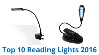 10 Best Reading Lights 2016
