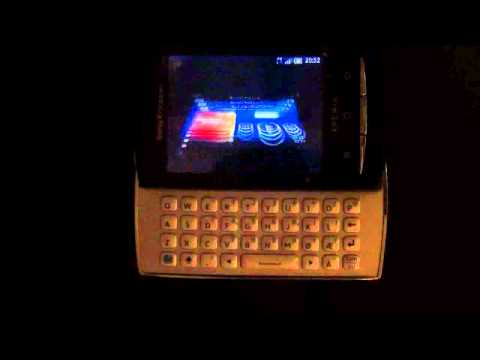 Sony Ericsson X10 Mini Pro Usability review 3: Music Player