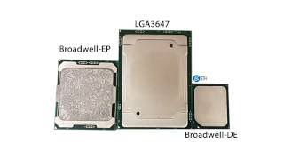 big sockets intel lga 3647 first look