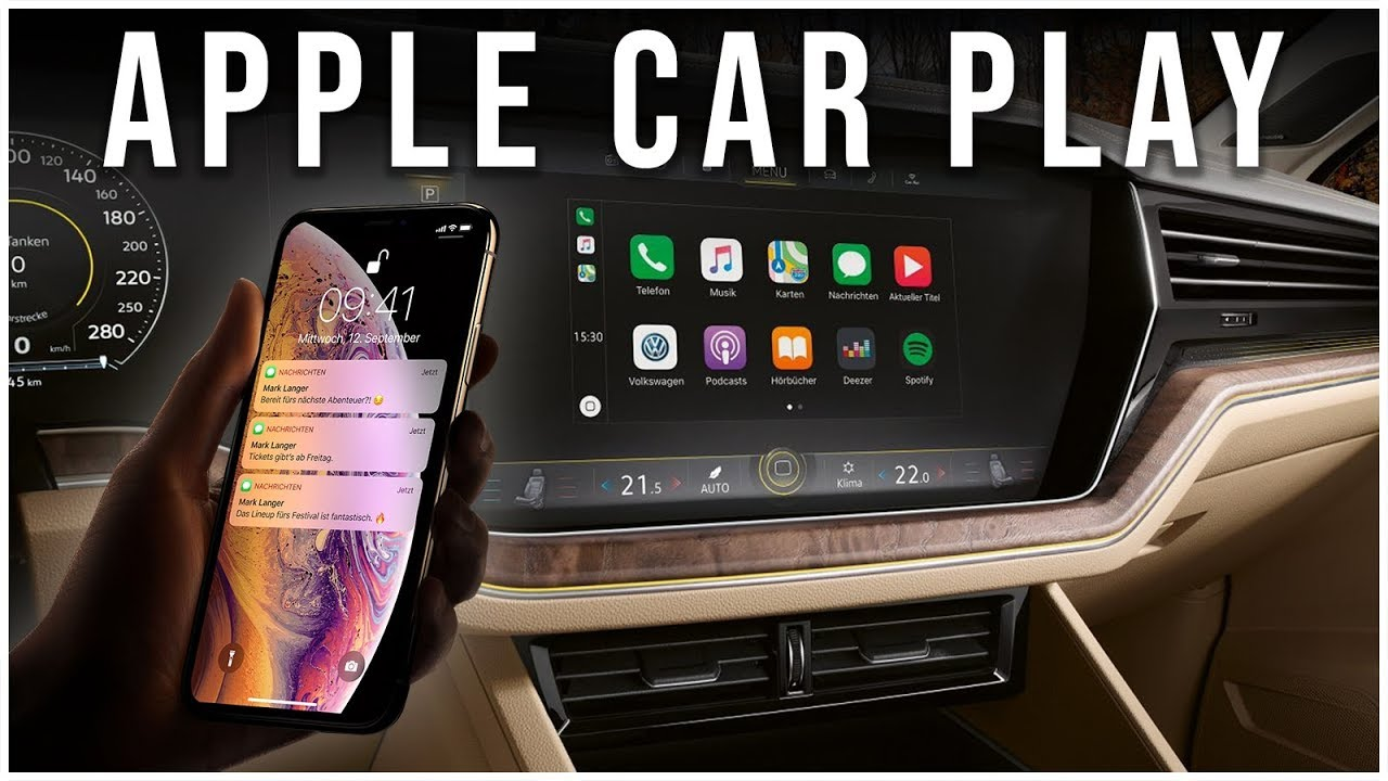 Hands-On: Apple Car Play im neuen VW Touareg