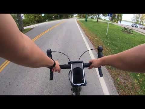 Riding My Bike from Buffalo USA to Niagara Falls Canada