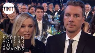 Kristen Bell, Dax Shepard, & Greta Gerwig | 24th Annual SAG Awards | TNT