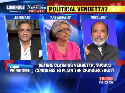 The Newshour Debate: Political Vindictiveness? - Part 1 (9th July 2014)