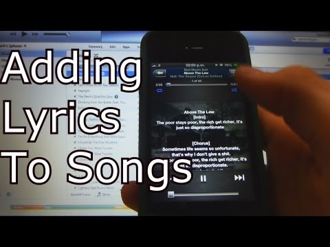 Adding Lyrics to your Music on iOS