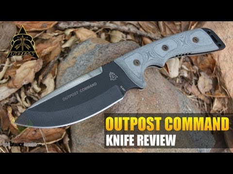TOPS Outpost Command Survival Knife Review | OsoGrandeKnives