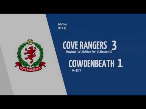 Cove Rangers Cowdenbeath Goals And Highlights