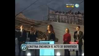 Cristina Kirchner - Discurso Epico por la Soberania  Increíble
