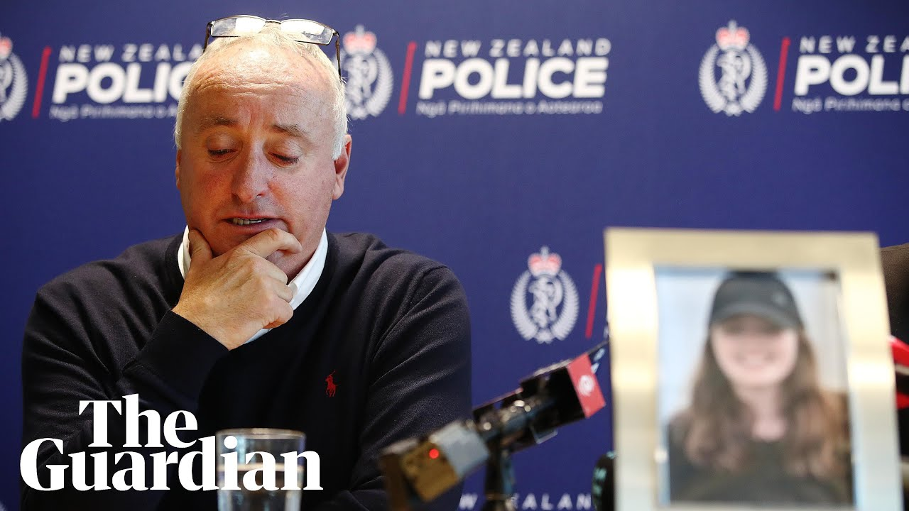 Missing Grace Millane's father describes 'lovely, outgoing daughter' in appeal