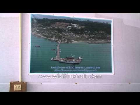 Harbour works equiments on display - Andaman& Nicobar Islands