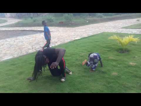 3 Year old Kwaku doing Capoeira with his...