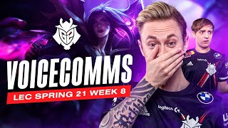 Rekkles Telling Dad Jokes | LEC Spring 2021 Week 8 Voicecomms
