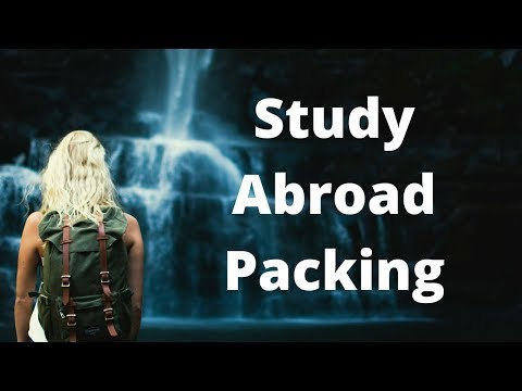 Study Abroad Packing