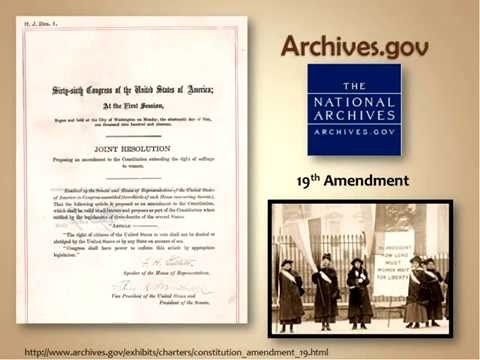 Primary Sources in Government Documents for Instruction and Research