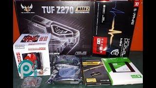 tUF Z270 MARK 2 / PULSE RX570 / I7 7700K PC MONTAJ
