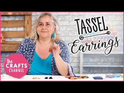 How To Make Your Own Tassel Earrings - Detailed Instructions