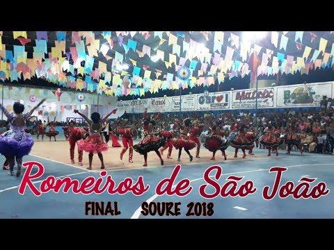 QUADRILHA ROMEIROS DE SÃO JOÃO CAMPEÃ 2018 - SOURE