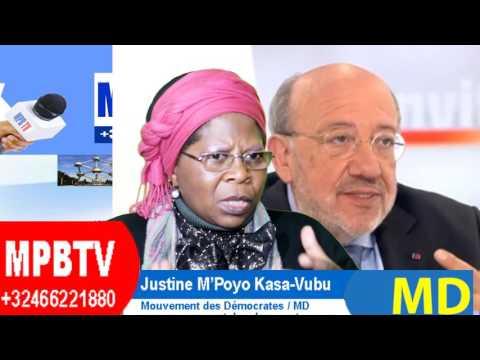 RDC: Inclusivité prétexte,Constitution et Peuple Méprisés par Tous-Justine Kasa-Vubu Dénonce