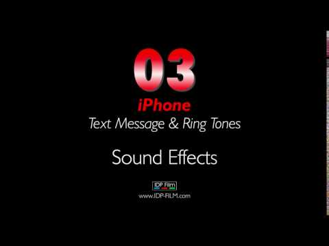 IPhone Message Sound Effects HD - MOBILE Ring Tones 03 - Text Tone