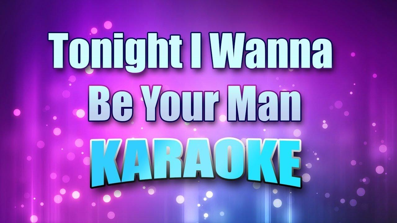 Tonight i wanna be your man lyrics