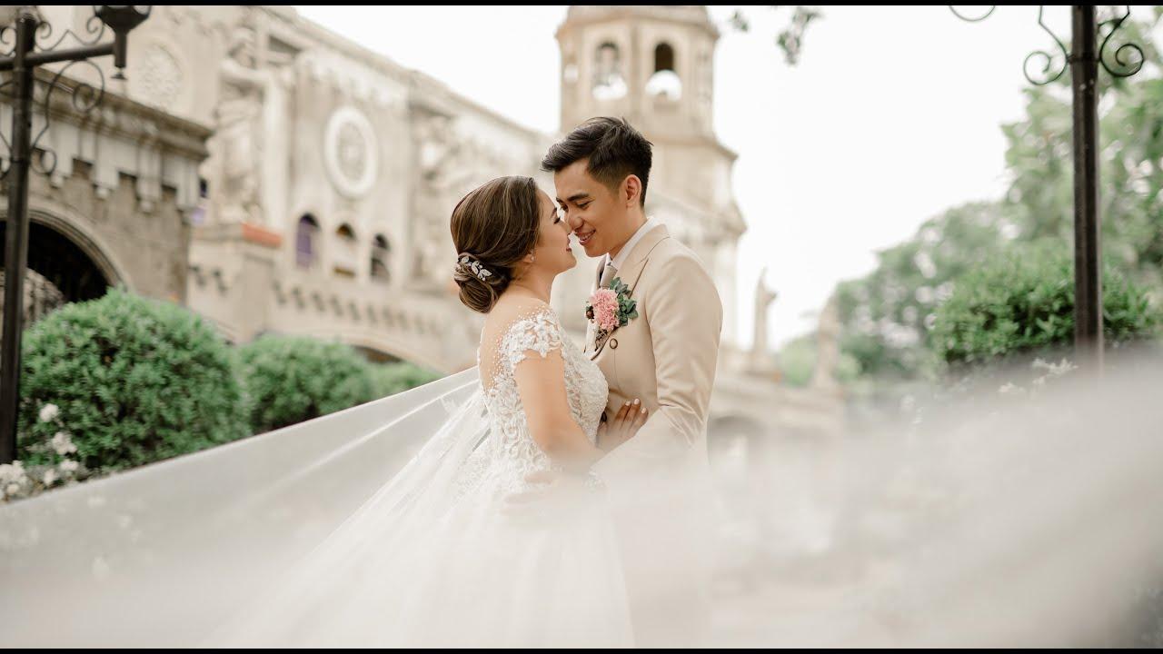Estancia de Lorenzo | Our Lady of the Abandoned Parish { Miggy & Aya } Onsite Wedding Photo SDE