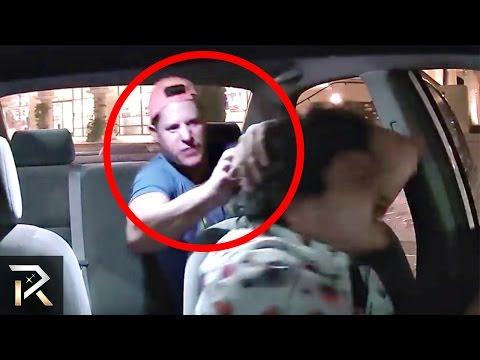 10 Craziest Moments Caught in an UBER