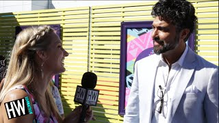 Jane The Virgin's Jaime Camil Gushes Over Britney Spears! (TEEN CHOICE 2015) | Hollywire