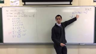 Double-Sided Inequality Proof