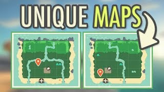 Animal Crossing New Horizons UNIQUE MAPS CONFIRMED