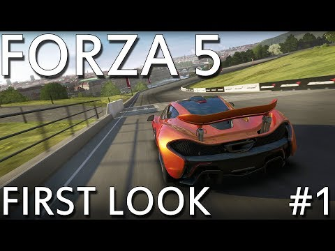 Forza 5 - First Look Part 1 (Xbox One Exclusive)