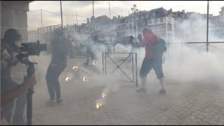 G7 : Les opposants manifestent, tensions et incidents (24 août 2019, Bayonne, France)