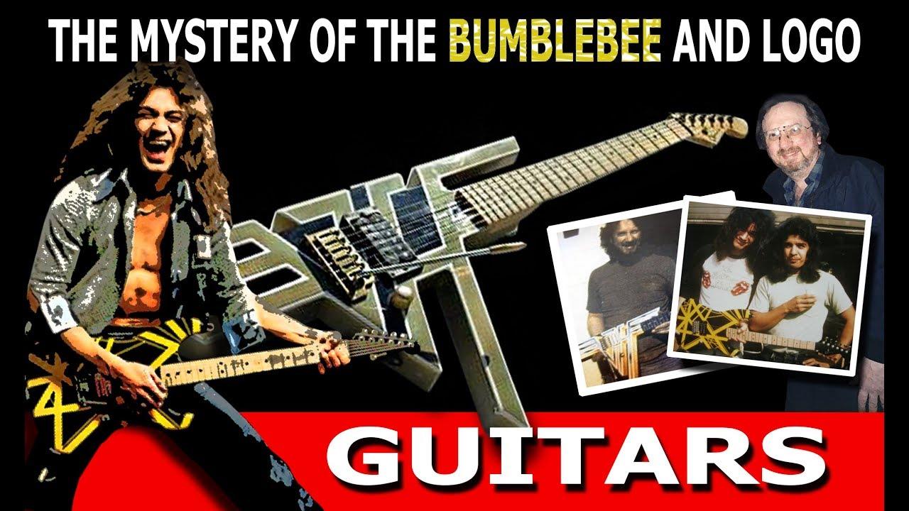 0f47ece2395 The Mystery of the Charvel Bumblebee and Eddie Van Halen Logo Guitars