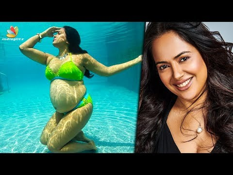 Sameera Reddy's underwater maternity Photoshoot   Actress During Pregnancy from YouTube · Duration:  4 minutes 17 seconds