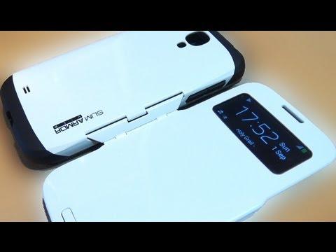premium selection a8a52 fd285 Samsung Galaxy S4 S View Slim Armor