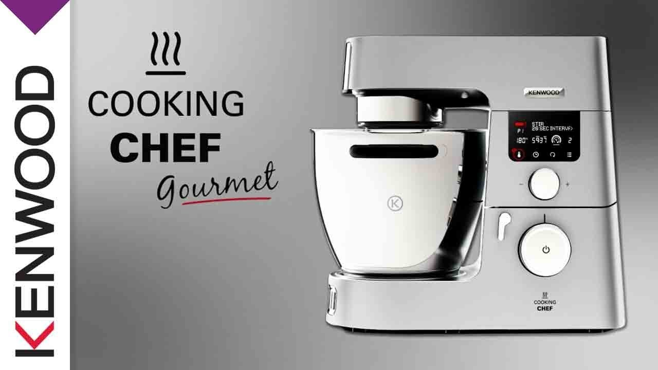 cooking chef gourmet kenwood k chenmaschinen youtube. Black Bedroom Furniture Sets. Home Design Ideas