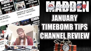 MADDEN 18 JANUARY CHANNEL REVIEW