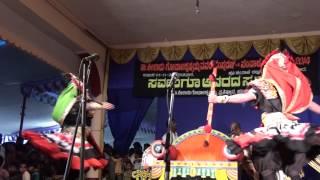 A world record dance performance in Yakshagana from Karnataka - 2014 Sampaje Yakshotsava!