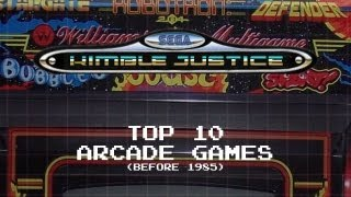 Top 10 Arcade Games (before 1985) - Kimble Justice