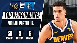MPJ Pours In 30 PTS & 6 3PM To Power The Nuggets In Dallas!