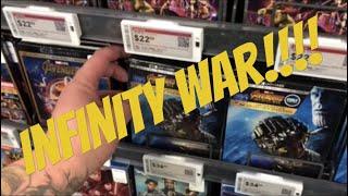 Blu Ray/DVD shopping 08/14/18 (Infinity War!!!!)