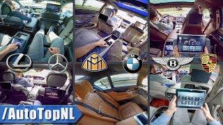 Passenger Pov In Maybach | Bentley Bentayga | Porsche Panamera | Amg S63 | Bmw 7 Series | Lexus Ls
