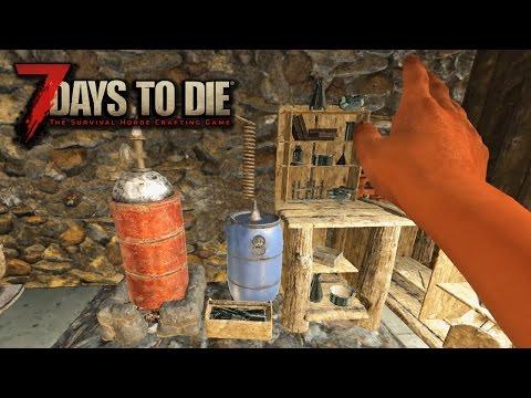 7 Days To Die Alpha15 #42 - ХИМИЧЕСКАЯ ЛАБОРАТОРИЯ!