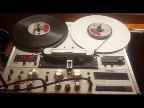 Rock 'n' Roll Flashback - Radioshow Intro auf ReVox PR99 Mk.II