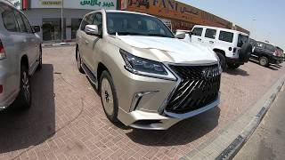 2018 Lexus LX 570 MBS Autobiography Edition 4 Seater