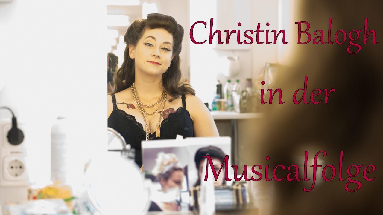 Christin Balogh in der Musicalfolge - YouTube